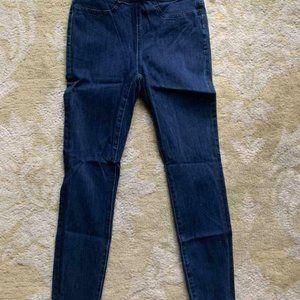 J.Crew $75 Pull-on toothpick jean in indigo J2256